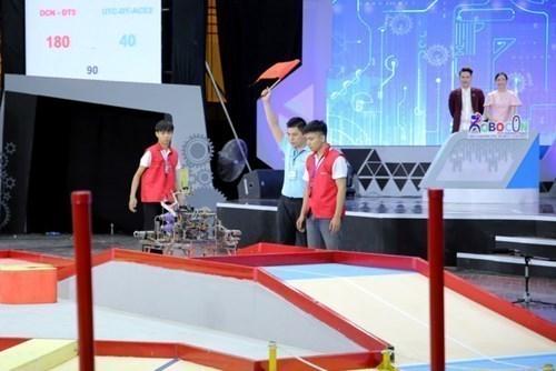 Robocon Đại học Công nghiệp Hà Nội tham dự vòng Chung kết toàn quốc Cuộc thi `Sáng tạo Robot Việt Nam 2019`