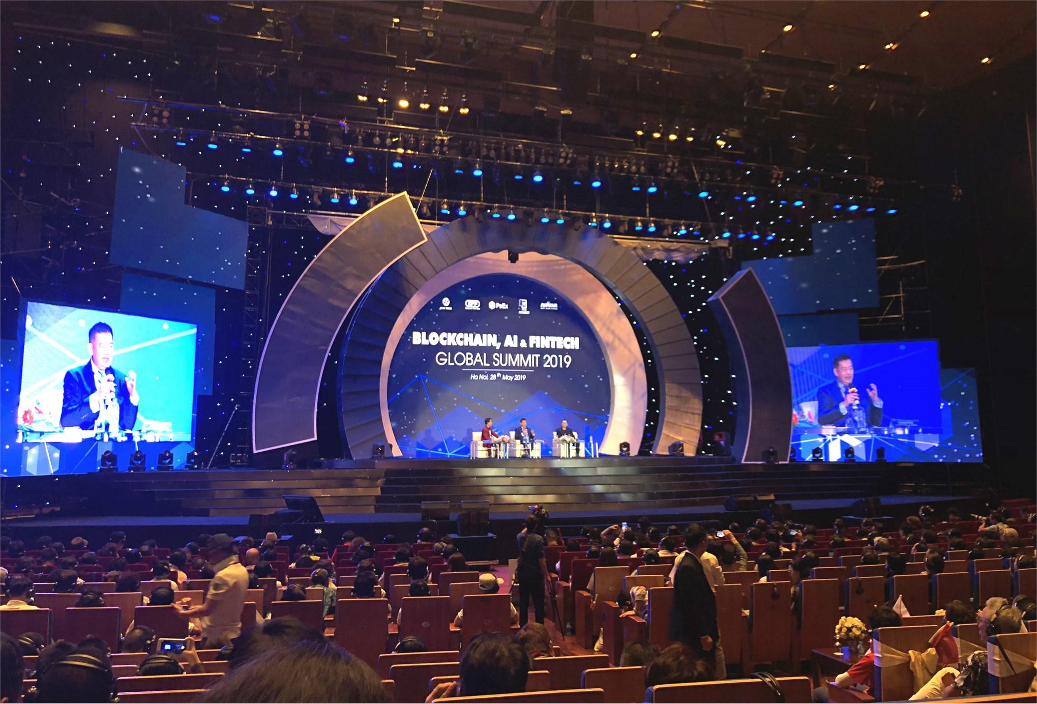 Hội nghị quốc tế Blockchain, AI và Fintech 2019