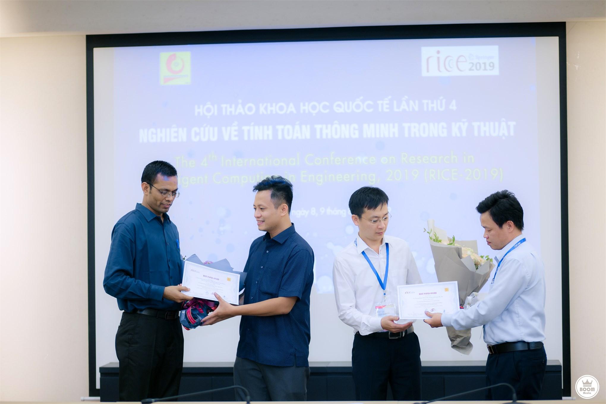 """Trường Đại học Công nghiệp Hà Nội tổ chức Hội thảo Khoa học Quốc tế lần thứ 4 """"Nghiên cứu về tính toán thông minh trong kỹ thuật"""""""