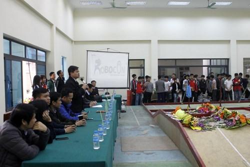 """Trường Đại học Công nghiệp Hà Nội tổ chức cuộc thi """"Sáng tạo Robot Việt Nam 2019"""" cấp Trường"""
