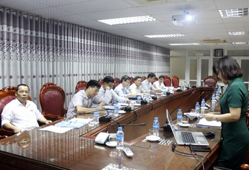 Nghiệm thu đề tài nghiên cứu khoa học cấp Trường do TS. Cao Thị Thanh chủ nhiệm